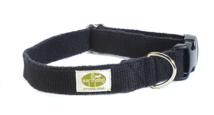 Hubba — ash hemp adjustable collar - Earth Dog