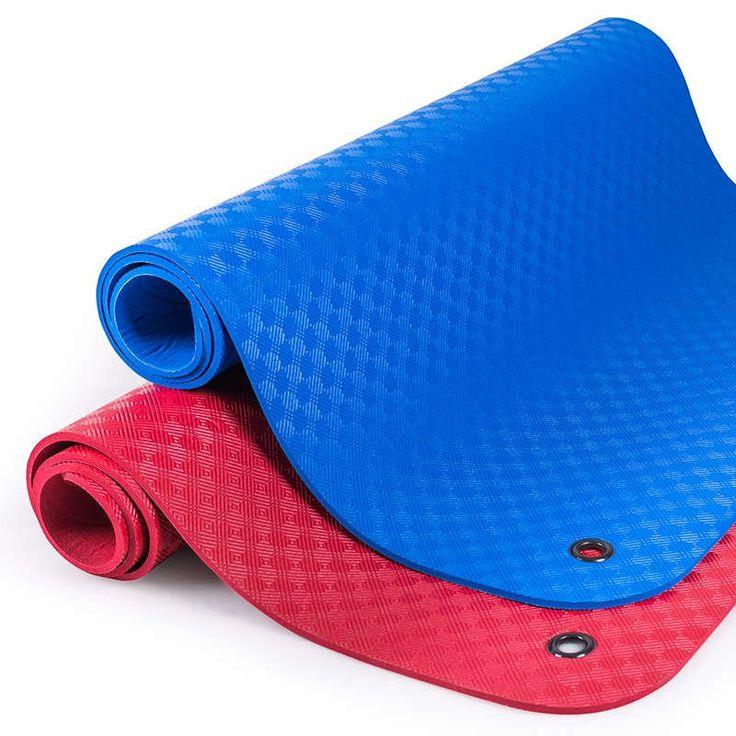 Professionelle Gymnastikmatte 180 x 100 x 1 cm blau oder rot, Made in Germany, aus hochwertigen Weichschaum mit geschlossener Zellstruktur.  #blau #rot #gymmat #gymnastikmatte #sportmatte #fitnessmatte #matte #bodenmatte