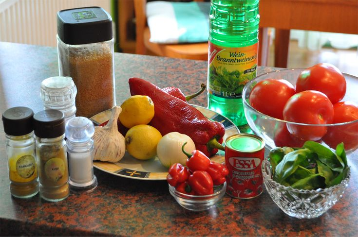 Ingredience Habanero omáčka