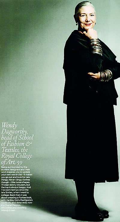 Wendy Dagworthy is widely acclaimed as a fashion icon of our time by global _