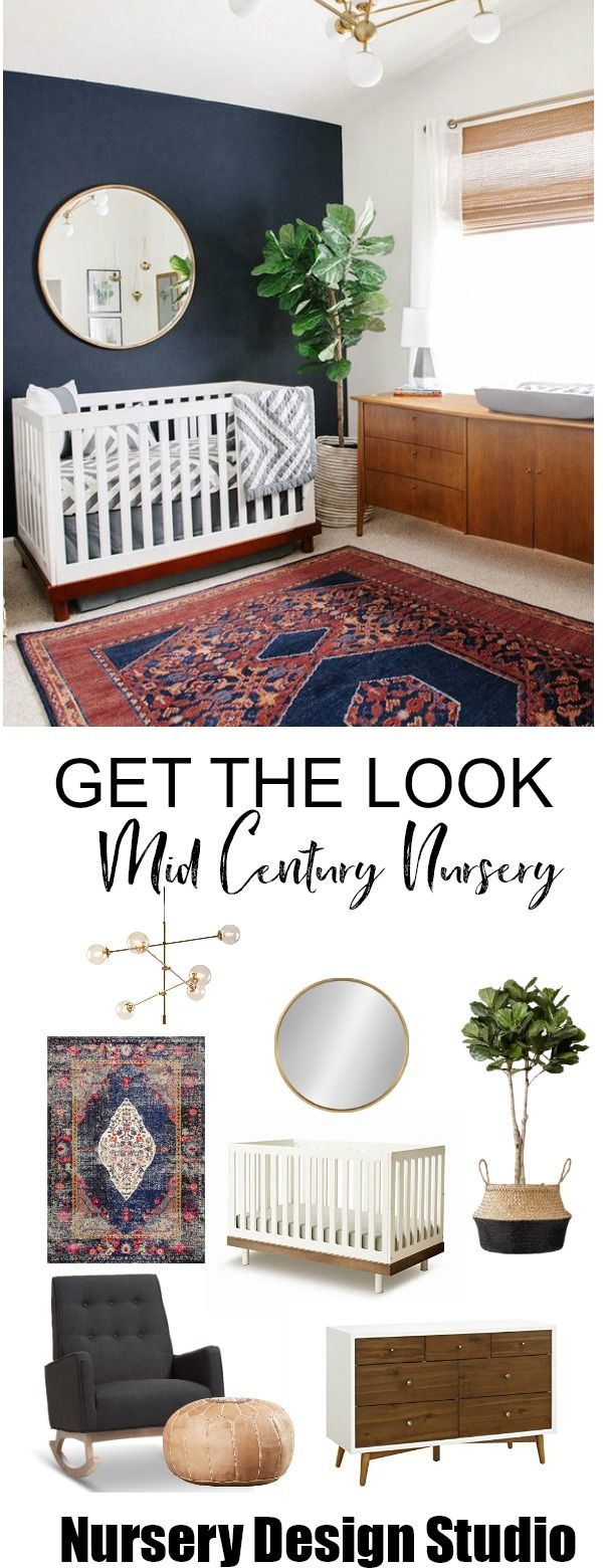 GET THE LOOK:MID-CENTURY MODERN NURSERY