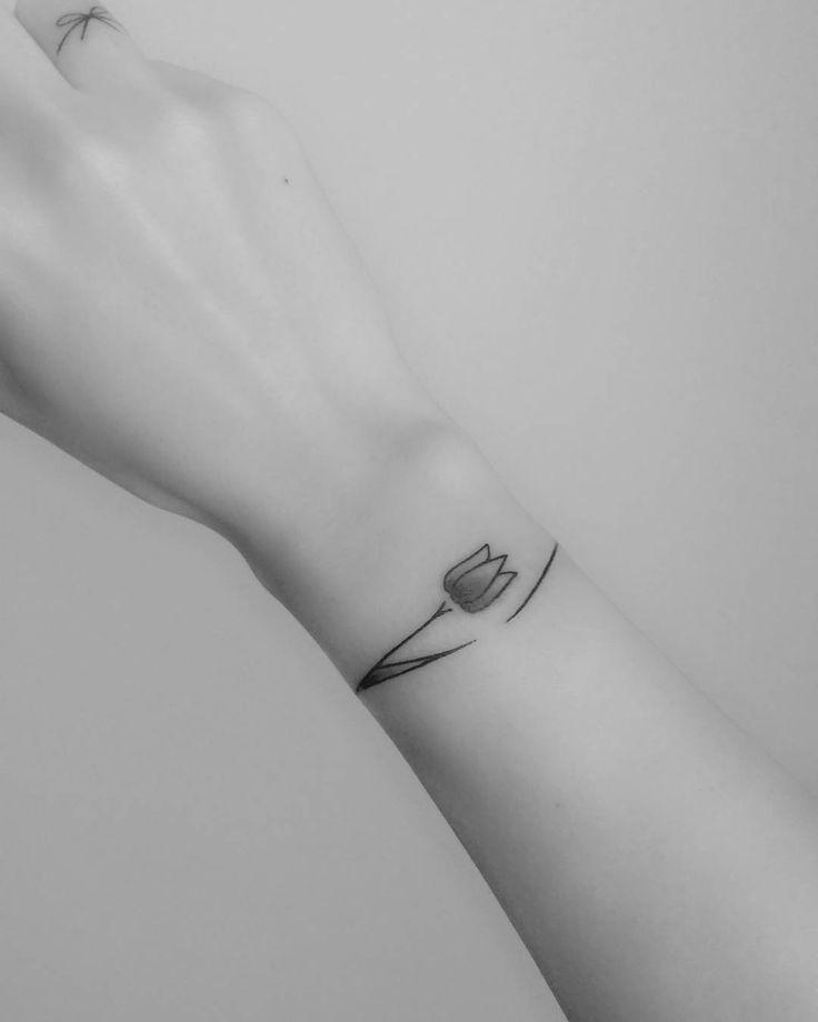 Les bracelets de tatouage sont sur le point de devenir votre nouvel accessoire préféré – ces 102 photos le prouvent   – Nails