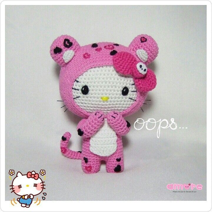 Amigurumi Hello Kitty Free Crochet Pattern - Amigurumi Free Patterns | 720x720