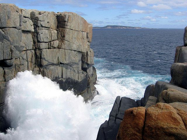 """The Gap, Albany, Western Australia. """"I will stand at the end of the rock!"""""""