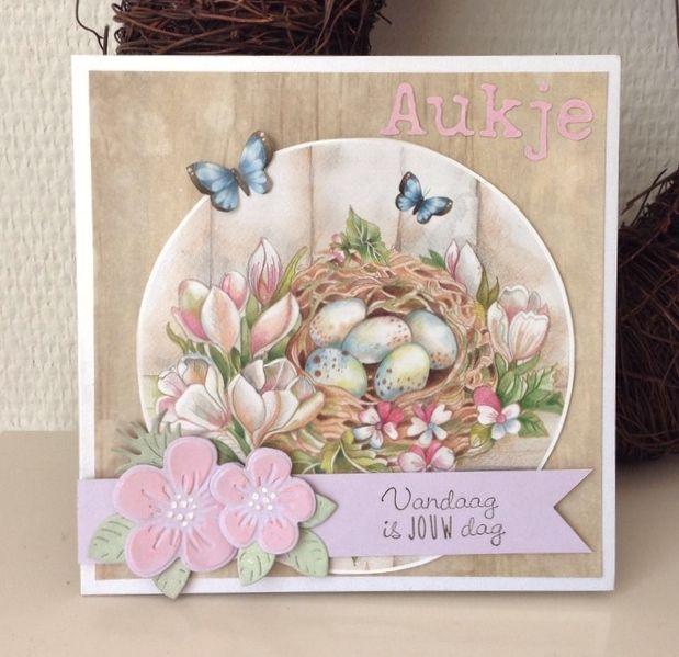 Annemarie's kaarten: Vandaag is jouw dag