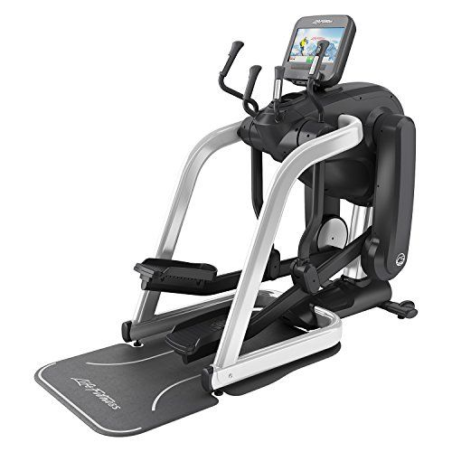 """Life Fitness Platinum Club Series FlexStrider Variable-Stride Trainer with Discover SE Console - The innovative Life Fitness Platinum Club Series FlexStrider Variable Trainer redefines your home workout experience. The unique ellipse path provides natural movement similar to running or jogging and it's easy to adjust your stride length for workout variety. Instantly switch the path between 0 and 36"""" for diversity, intervals on the fly and a complete workout that blitzes your whole body."""