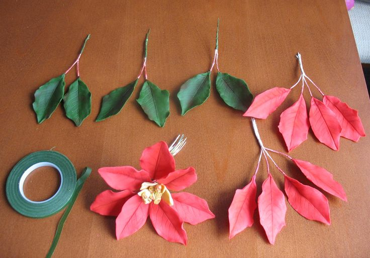 5. Poinsettia tutorial