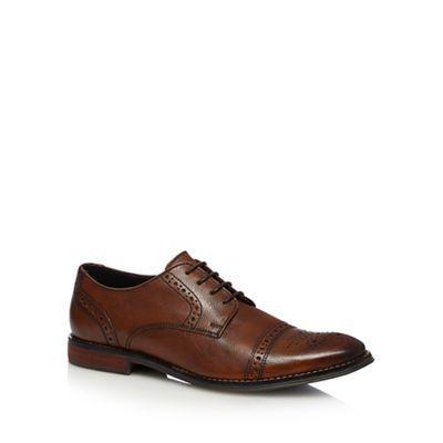 Hammond & Co. by Patrick Grant Tan scotch leather brogues | Debenhams