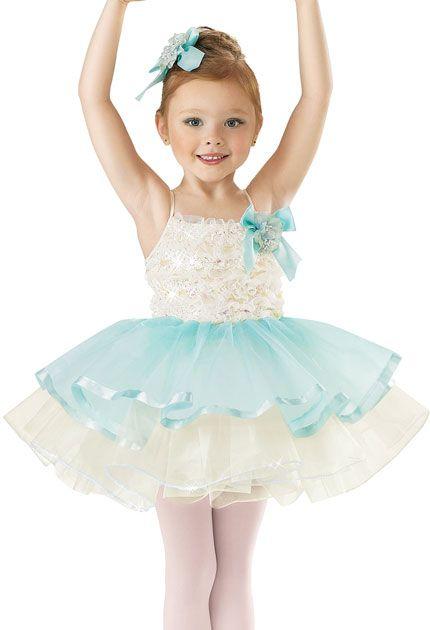 Girls' Flower Ballet Dress; Weissman Costumes