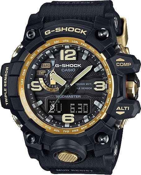 G-Shock Watch Premium Mudmaster #add-content #alarm-yes #bezel-fixed #bracelet-strap-rubber #brand-g-shock #case-depth-18mm #case-material-black-pvd #case-width-56-1mm #chronograph-yes #classic #date-yes #day-yes #delivery-timescale-1-2-weeks #dial-colour-black #gender-mens #limited-edition-yes #movement-solar-powered #official-stockist-for-g-shock-watches #packaging-g-shock-watch-packaging #perpetual-calendar-yes #style-sports #subcat-g-shock #supplier-model-no-gwg-1000gb-1aer…