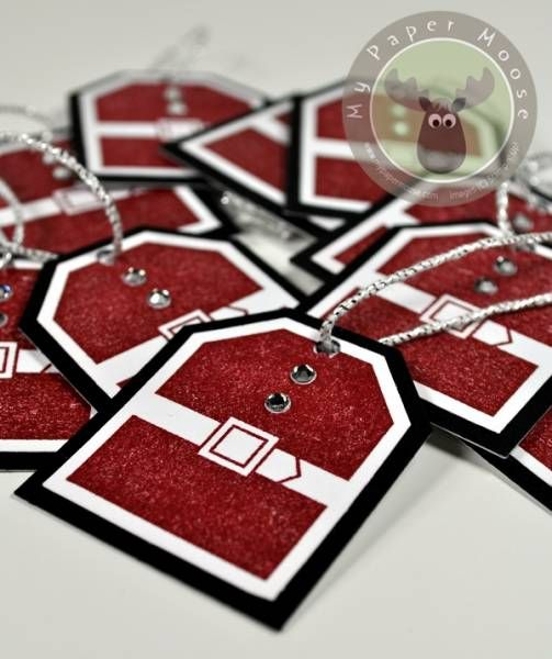 Santa Suit Gift Tags by Scraps Of Life - Cards and Paper Crafts at Splitcoaststampers