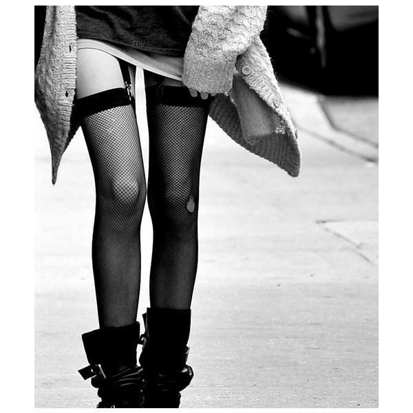 sub-par, glam-punk, fashion ❤ liked on Polyvore