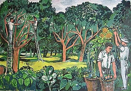 John Minton The Lyons Teashops Lithographs: Art in a Time of Austerity 1946-1955, The Towner Art Gallery, Eastbourne, until September 22 2013