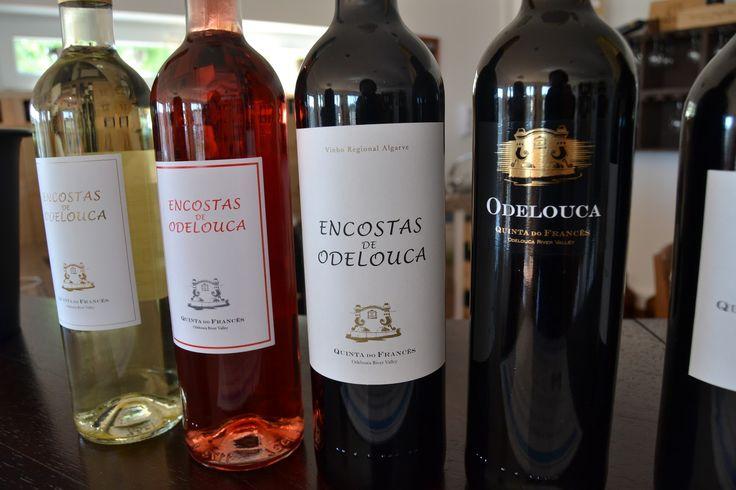 Wine Encostas de Odelouca, Adega Quinta do Francês, Algarve, Portugal