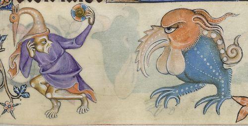 crazy medieval animals