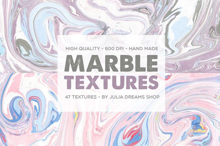 Marble Textures by Julia Dreams on @creativemarket