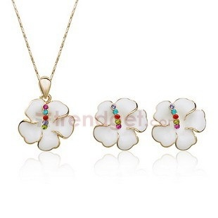Bright Crystal Alloy Fashion Jewelry Sets