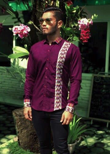 Mavazi menswear - South Sulawesi tribal ( Makassar pattern ) in simplicity & urban concept