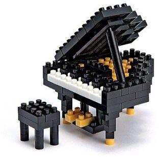 Lego Piano. #music #piano #lego http://www.pinterest.com/TheHitman14/music-paraphenalia/