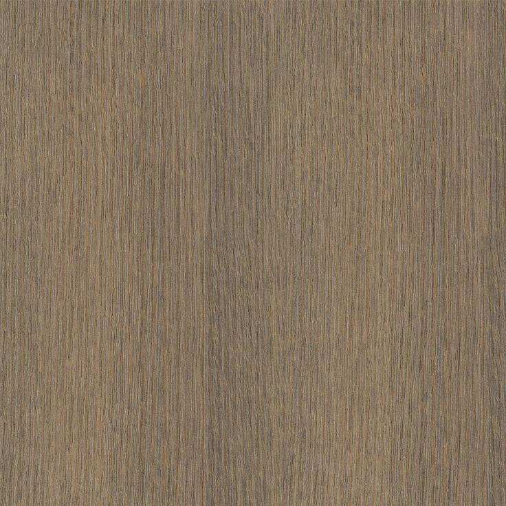 POLYTEC: SEPIA OAK – RAVINE Embossed Wood Grain. An all over cinnamon coloured oak wood grain in straight grain with grey undertones.