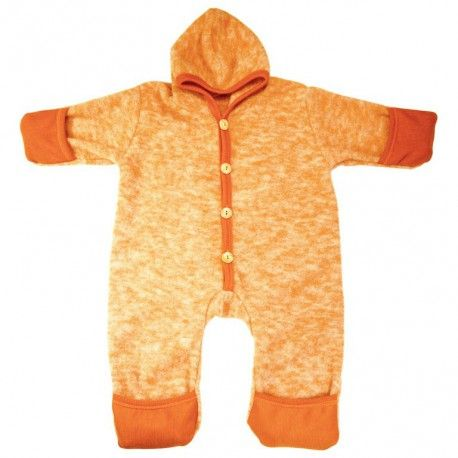 Woolsuit overall orange melange, Cosilana