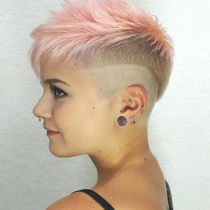 20 Cute Shaved Hairstyles For Women: 255 Best Images About Hair