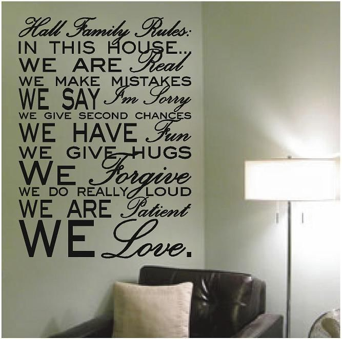 Best Wall Quotes And Sayings Images On Pinterest Vinyl Wall - Custom vinyl wall decals sayings for family room