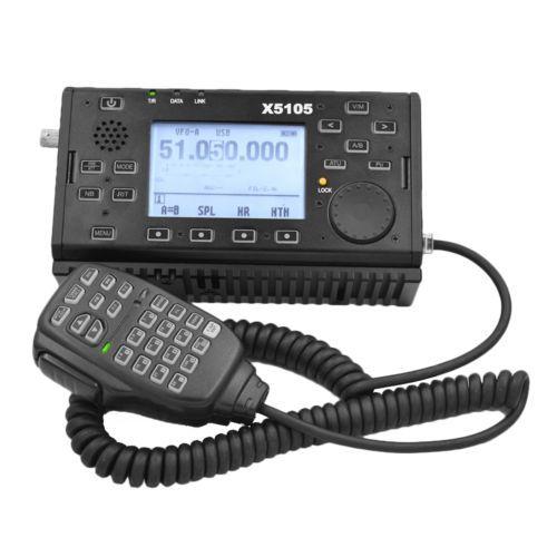 Xiegu x5105 Outdoor 0.5-30mhz 50-5mhz HF SSB CW AM FM RTTY PSC Amateurfunk device