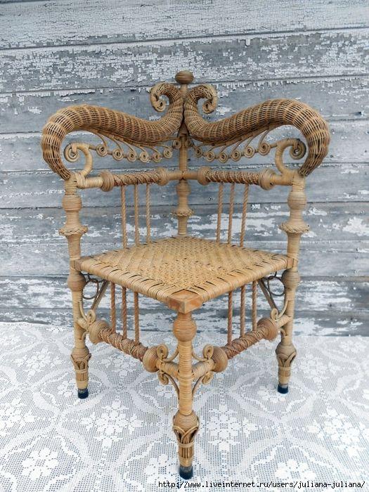 Плетение мебели из бумаги ,газет или лозы. Обсуждение на LiveInternet - Российский Сервис Онлайн-Дневников