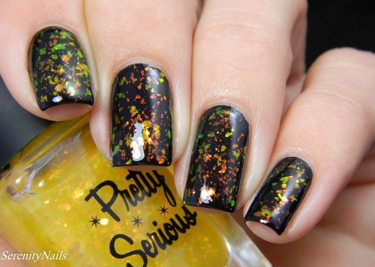 Pretty Serious Cosmetics Opal Treasure Topcoat Collection - Acid Burn