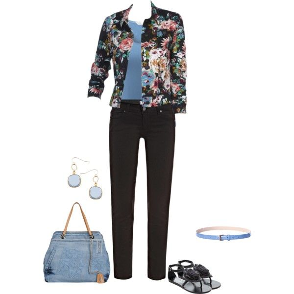 cool morning by msdanasue on Polyvore featuring moda, EAST, Paige Denim, Bruno Premi, Ermanno Scervino and Athena Designs