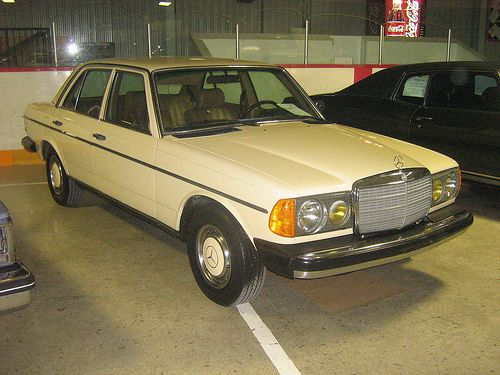 Mercedes-Benz 240D. Ours was circa 1982 and looked just like this. She was a good ol' girl. May she rest in peace.