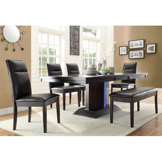 woodbridge home designs pulse extendable dining table dining room