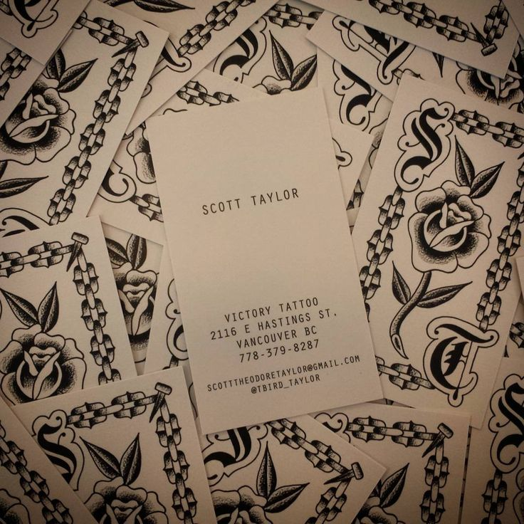 86 best business cards by clubcard images on pinterest natural kraft business cards for scott taylor of victory tattoos in victoria bc reheart Image collections
