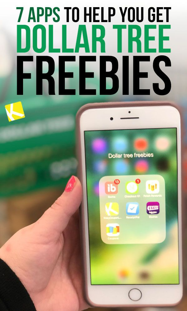 7 Apps Every Dollar Tree Shopper Needs to Get Free Stuff