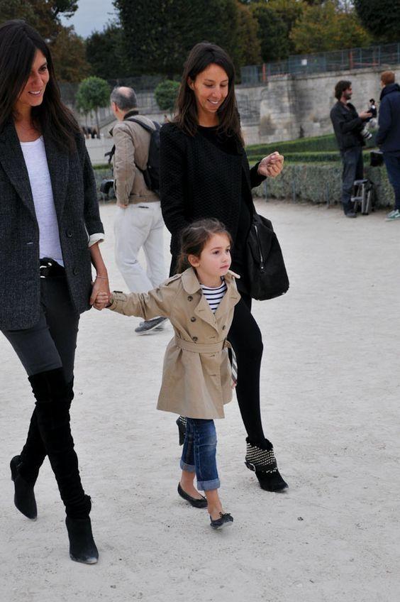 Mom & Kids at fashion week