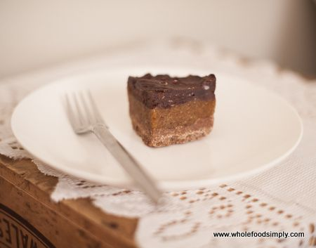 Wholefood Simply Caramel Slice