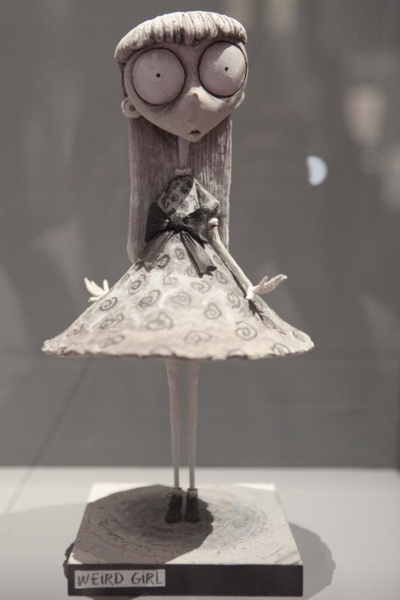 Weird Girl by Tim Burton. For those who haven't seen it, Frankenweenie is amazing!!
