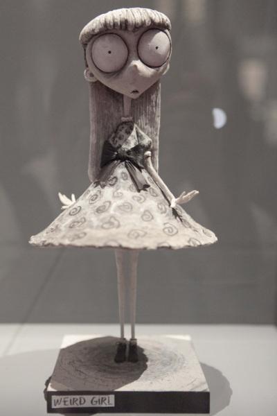 Weird Girl by Tim Burton