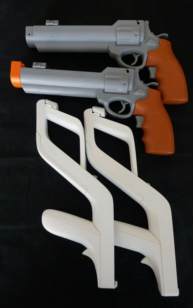 Zapper GUN for Nintendo Wii Wireless Remote Controller 2 & 2 Nintendo Wii Guns | Video Games & Consoles, Video Game Accessories, Controllers & Attachments | eBay!
