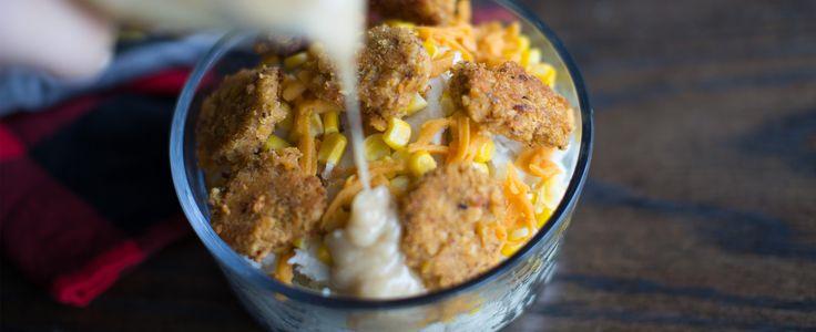 Vegan KFC famous bowls #veganeats