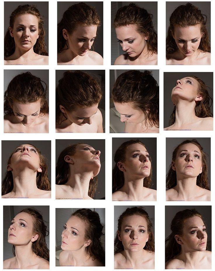 Поворот головы портрет фото