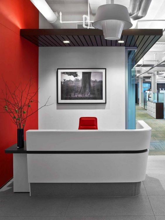 Best 25 Small Reception Desk Ideas On Pinterest Office