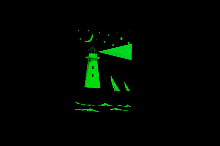 An exclusive range of glow-in-the-dark notebooks