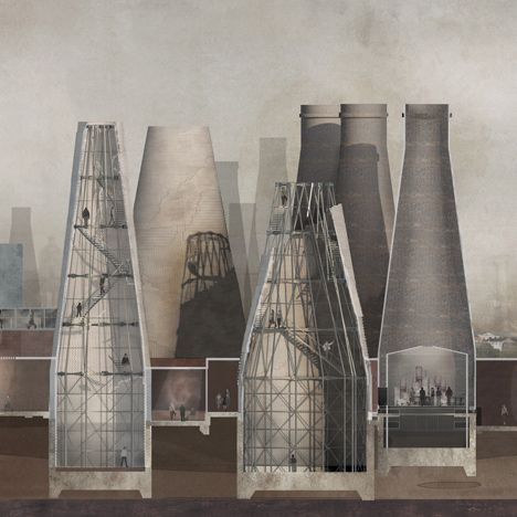 RCA graduate Olivia Wright to convert vandalised bottle kilns into pottery preservation centre