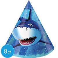 Shark Party Supplies - Shark Birthday Decorations - Party City