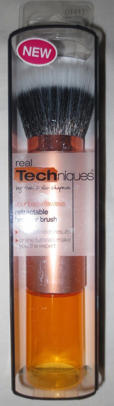 Real Techniques Retractable Bronzer Brush @Farleyco Canada