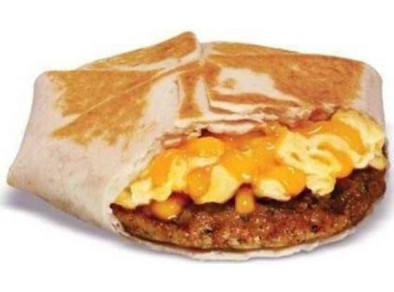 In case you haven't heard, Taco Bell recently launched a new breakfast menu. The new menu consists of breakfast burritos, waffle tacos and the A.M Cruchwrap. Their new A.M. Bacon Crunchwrap at home. It's actually pretty easy to make and you can get creative with different fillings like ham, sausage, steak or peppers.