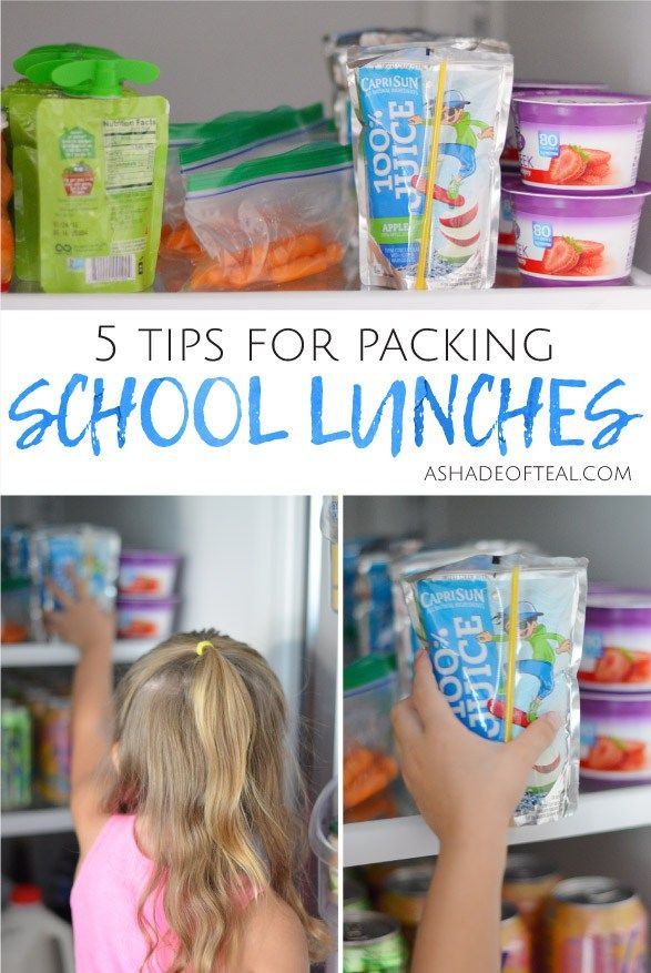 5 tips for packing school lunches with @Capri_Sun four All Natural Ingredient drinks. #CapriSun #clvr #ad
