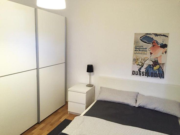 Schlafzimmer Zentral am schönen Lessinplatz - Wohnung in Düsseldorf-Oberbilk